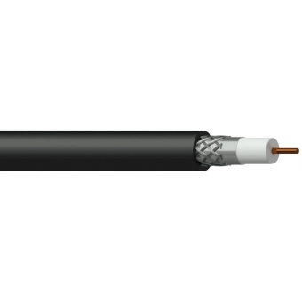 CCX160/1 - Contractor Coax Cable - 75 Ohm - Rg6/u Solid - Nhfr - 100m