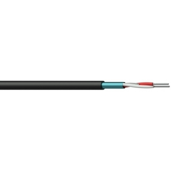 CMC124/1 - Contractor Bal Mic Cable - 0.22mm²/24awg Solid - Nhfr - 100m