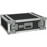 "FC104/B - 19"" Flightcase - 4he - 507mm Depth - Black"