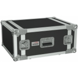 "FC106/B - 19"" flightcase - 6HE - 507mm depth - Black version"