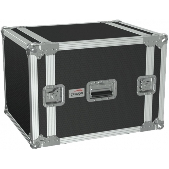 "FC110/B - 19"" Flightcase - 10he - 507mm Depth - Black"