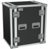 "FC116/B - 19"" Flightcase - 16he - 507mm Depth - Black"