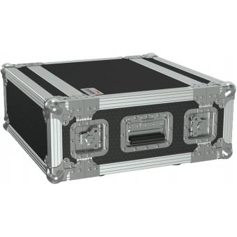 "FCX104/B - 19"" Flightcase - 4he - 360mm Depth - Black"