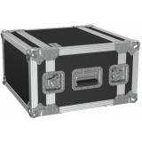 "FCX106/B - 19"" Flightcase - 6he - 360mm Depth - Black"