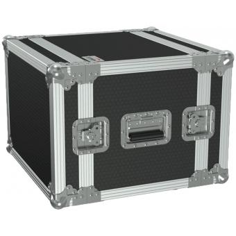 "FCX108/B - 19"" Flightcase - 8he - 360mm Depth - Black"