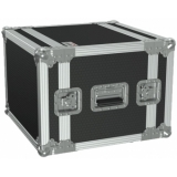 "FCX108/B - 19"" Flightcase - 8he - 360mm Depth - Black"