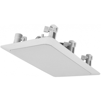 WS624/W - Quick Fit 2way Rect. In-wall Speaker 24w/100v - Ral9010