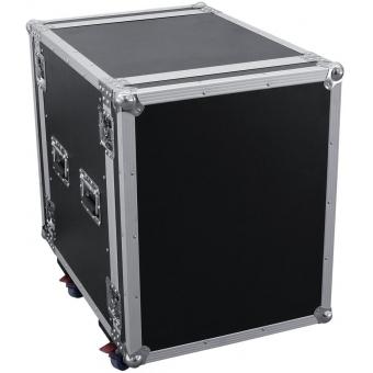ROADINGER Amplifier Rack PR-2ST, 14U, 57cm with wheels