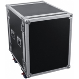 ROADINGER Amplifier Rack PR-2ST, 14U, 57cm with wheels