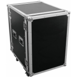 ROADINGER Amplifier Rack PR-2ST, 16U, 57cm with wheels