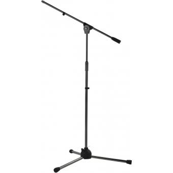 Stativ microfon de podea cu boom , RAL 9005