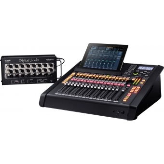 Consola-mixer digital 32 canale Roland M-200i #5