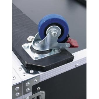 ROADINGER Amplifier Rack PR-2ST, 18U, 57cm with wheels #4