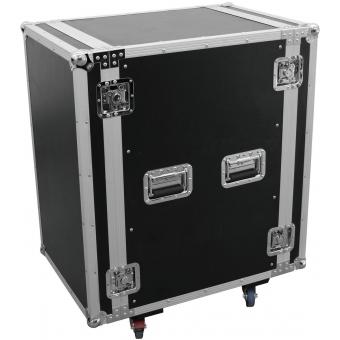 ROADINGER Amplifier Rack PR-2ST, 18U, 57cm with wheels #7