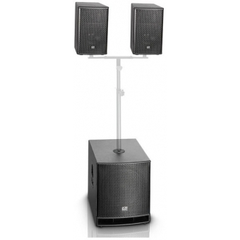 """LD Systems DAVE G3 Series -Compact 15"""" active PA System XMAS #2"""