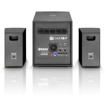 """LD Systems DAVE G3 Series -Compact 15"""" active PA System XMAS #3"""
