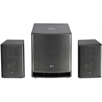 """LD Systems DAVE G3 Series -Compact 15"""" active PA System XMAS"""