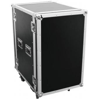 ROADINGER Amplifier Rack PR-2ST, 20U, 57cm with wheels
