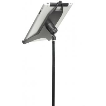 Stativ pentru iPad 1,2 & 3 cu prindere pe stativul de microfon #4