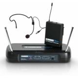 Sistem wireless de microfon cu beltpack si headset