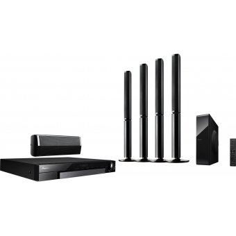 5.1 Channel Media Centre System with tall speakers and Wi-Fi connectivity #2