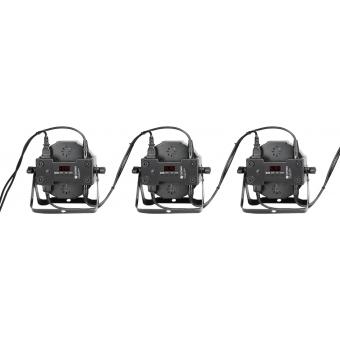 Cameo FLAT PAR CAN TRI LED 3W IR - 7 x 3 W - black #5