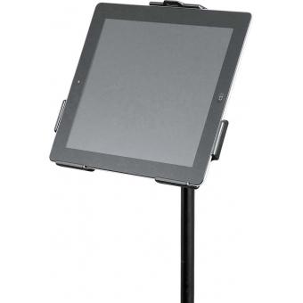 """König & Meyer 19712-300-55 - iPad stand holder - black 3/8"""" #2"""