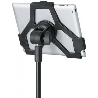"""König & Meyer 19712-300-55 - iPad stand holder - black 3/8"""" #3"""