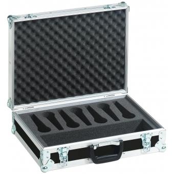 ROADINGER Microphone Case Road 7 Microphones black