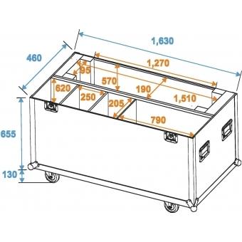 ROADINGER Flightcase LCD ZL60-2 #5