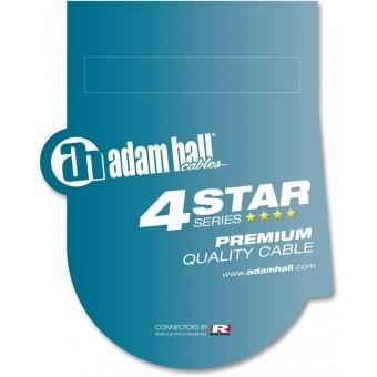 Cablu audio Adam Hall - 2xRCA tata - 2xRCA tata - 0.90m #2