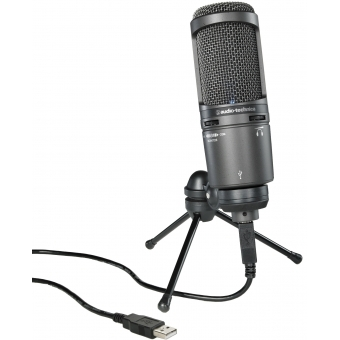 Microfon studio Audio-Technica AT2020USB+ #2