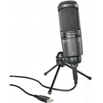 Microfon studio Audio-Technica AT2020USB+ #2