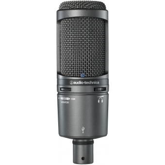 Microfon studio Audio-Technica AT2020USB+