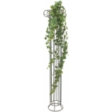 EUROPALMS Ivy garland embossed green 180cm