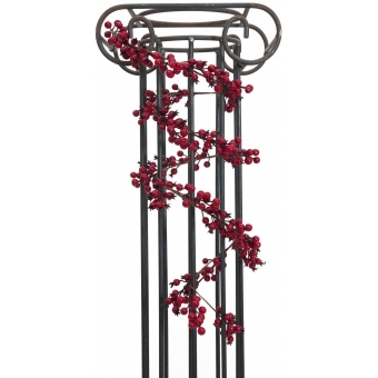 EUROPALMS Berry garland red 180cm