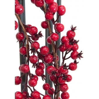 EUROPALMS Berry garland red 180cm #2