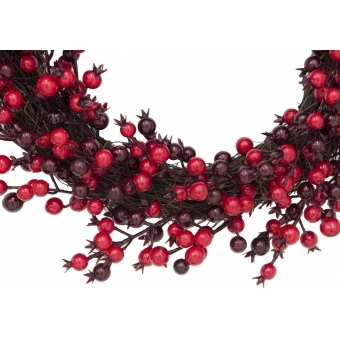 EUROPALMS Berry wreath mixed 46cm #2