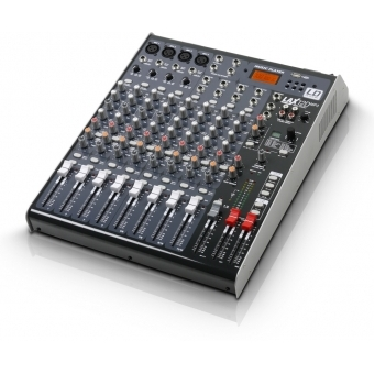 LD Systems LAX Series - Mixer 12-channel with DSP & USB MP3 Player #2