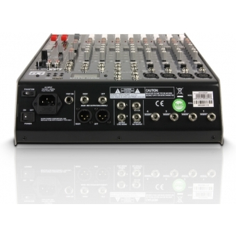 LD Systems LAX Series - Mixer 12-channel with DSP & USB MP3 Player #3