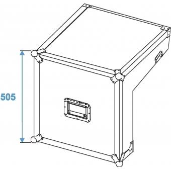 ROADINGER Special Mixer/CD Player Case 3/7/6U #7