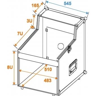 ROADINGER Special Mixer/CD Player Case 3/7/8U #2