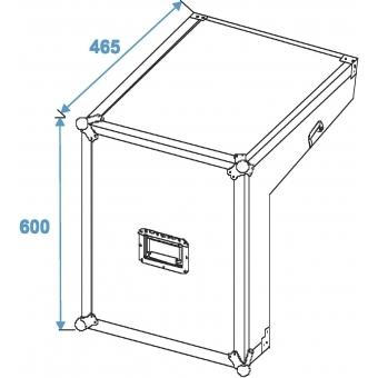 ROADINGER Special Mixer/CD Player Case 3/7/8U #7