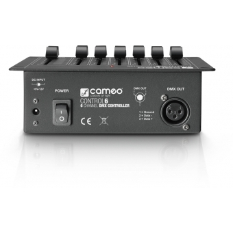 Controller DMX 6 canale - Cameo 6 #4