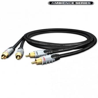 Cablu Sommer HICON 2 RCA - 2 RCA - 0.75 m