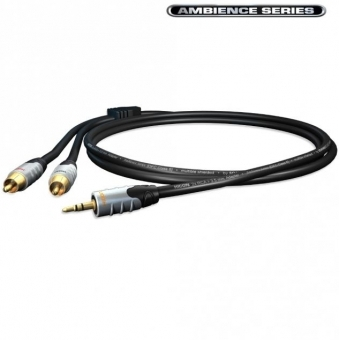Cablu Sommer HICON Ambience JACK 3.5mm - 2 RCA - 3m
