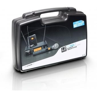 Sistem wireless cu beltpack si lavaliera LD Systems WS 1000 G2 BPL #3