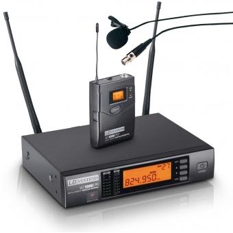 Sistem wireless cu beltpack si lavaliera LD Systems WS 1000 G2 BPL