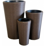 "EUROPALMS Deco pot set ""INDIA"" 74/54/44cm"