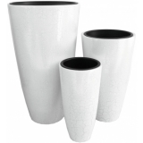 "EUROPALMS Deco pot set ""CAUCASIA"" 74/54/44cm"